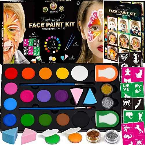 The Best Face Painting Kits For Kids For Channeling Artistic Expression