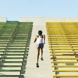 Sweat Through This 25-Minute Stair Workout For a Leg and Lung Burn You Won't Believe