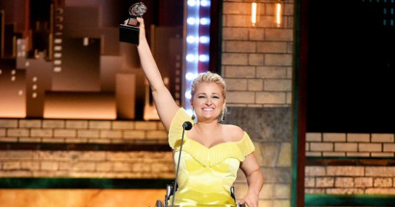 Ali Stroker Becomes The First Actor Who Uses A Wheelchair To Win A Tony