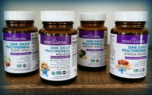 New Chapter launches line with 'first of its kind' multiherbal blends in one capsule