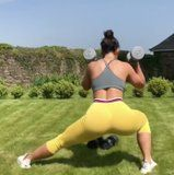 Grab Your Dumbbells For This Trainer's Quick Legs and Butt Workout