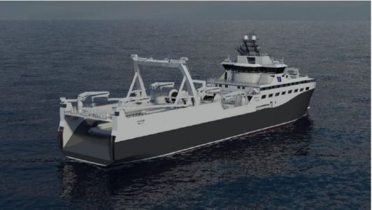 Rimfrost raises game with construction of 'greenest' krill vessel