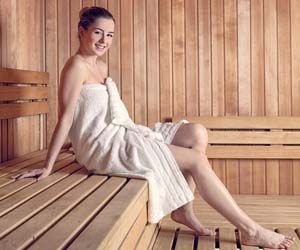 Sauna Sessions are as Exhausting as Moderate Exercise: Study