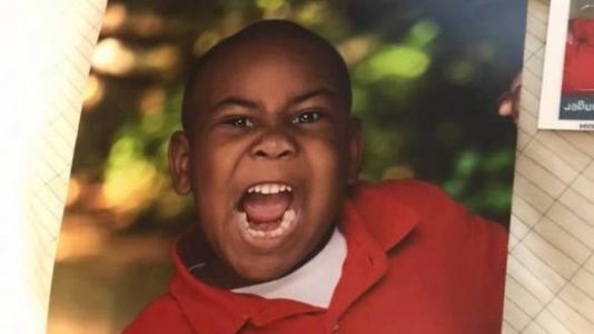 Mom's Reaction To Her Son's Hilarious School Picture Is All Of Us