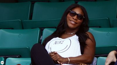 Serena Williams Strips Down To Her Baby Bump For Vanity Fair, Reveals She And Alexis Ohanian's Love Story