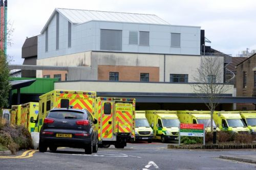 Hospital office staff are working on wards to relieve pressure during the winter 'crisis'