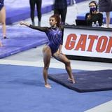 "Nya Reed Performed a Near-Perfect Floor Routine With ""Equality"" Stamped on Her Leg"
