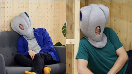 Every Tired Parent Needs This Ridiculous Napping Hat