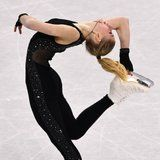 Latvia's Figure Skater Wore a Sexy, Sparkly Bodysuit on Ice and People Are HERE For It