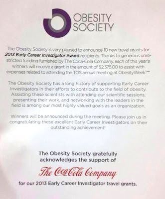 The Obesity Society Weighs In On Soda Taxes To.Double Checks Notes.Caution Against Them