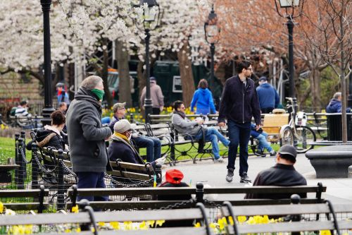 People In NY Flock To Public Parks Despite Social Distancing Orders