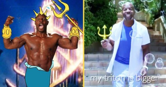 Terry Crews Nailed His King Triton Audition Tape For 'The Little Mermaid'