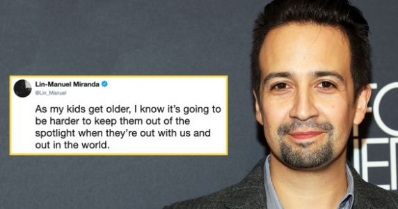 Lin Manuel Miranda Shares Story About How Fans Protect His Son's Privacy