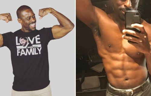 Emmy Winner Sterling K. Brown Just Posted an Ab Selfie, and He Is Shockingly Swole