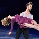 """Watch French Ice Dancers Glide Effortlessly to Beyoncé's """"Pray You Catch Me"""""""