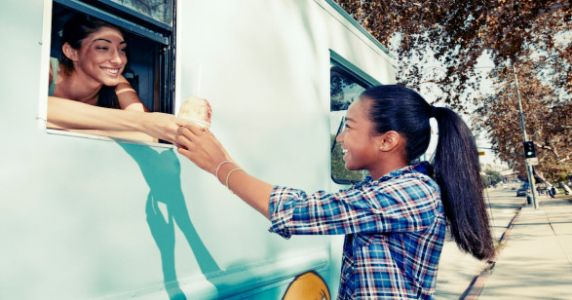 School District Food Truck Offers Free Meals To Kids During The Summer