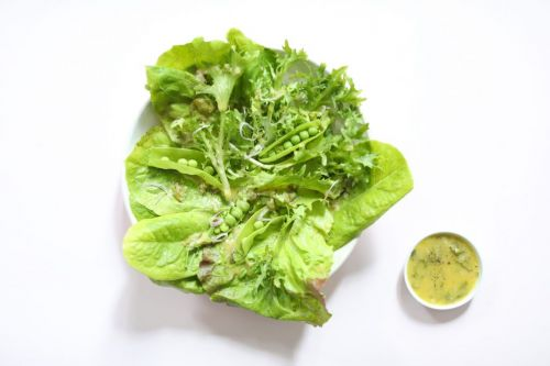Creamy Zesty Lemon Shallot Dressing