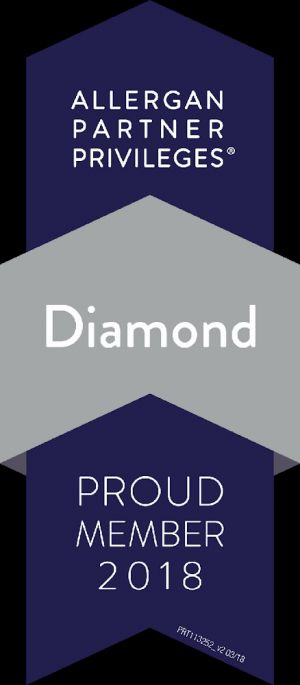 Dr. Sinha attains Allergan Diamond status