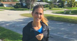 Neither Cold, Nor Rain, Nor Windy Day Will Stop This Runner