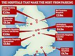 One in three hospitals in England raised car park prices last year