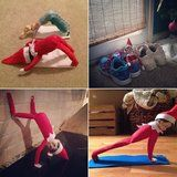 50+ Ways The Elf on the Shelf Shows His Healthy, Fit Side