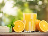 An orange juice a day keeps the doctor away!