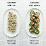 Save Over 200 Calories and Lose Weight With This Easy Sushi Swap