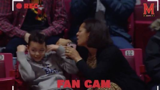Mom Mortifies Son With Amazing Jumbotron Performance