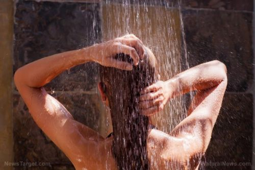 Paranoid health loons now claim SHOWERING is bad for you