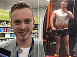 Former bodybuilder, 23, addicted to steroids for THREE YEARS begs others to kick their habit