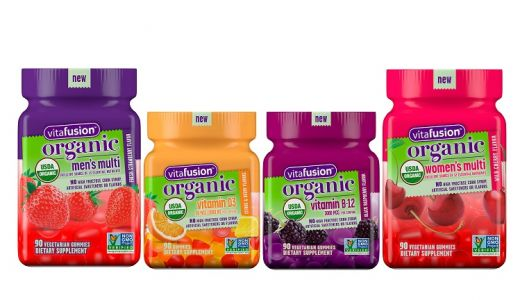 Vitafusion launches line of USDA-certified organic gummy supplements