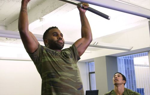 Jason Derulo Takes on Our Fitness Editor in the Men's Health Celebrity Challenge