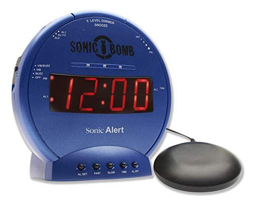 Behold: The Loudest Alarm Clocks For Kids Who Can Sleep Through Almost Anything