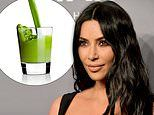 Trendy 'celery juice' diet endorsed by Kim Kardashian could be giving you WRINKLES