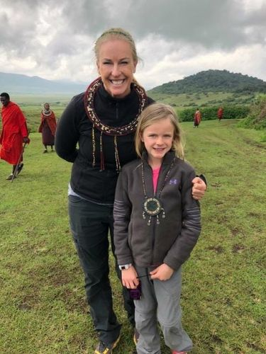 7-Year-Old Breaks Records Climbing Mt. Kilimanjaro In Honor Of Her Late Dad