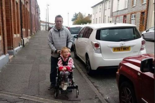 A family faces wait until 2020 for a disabled parking space to be installed outside their home