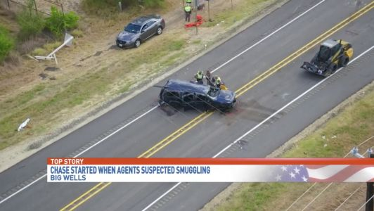 Insane Border Patrol car chase demonstrates how illegals put American citizens at risk on public roads