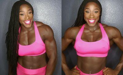 Fitness Fridays: Body Builder Tokini Bilaye-Benibo On Not Getting Discouraged By Haters - Or The Scale