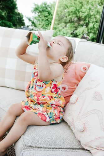 How I nourished my baby into toddlerhood