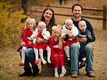 Couple told by doctors they would NEVER have children have twins and triplets