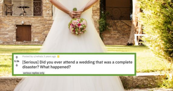 Bride Has Explosive Diarrhea In Her Wedding Dress And Powers Through The Reception Anyway