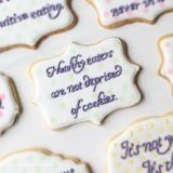 What Better Way to Spread Anti-Diet Messages Than by Writing Them on COOKIES?
