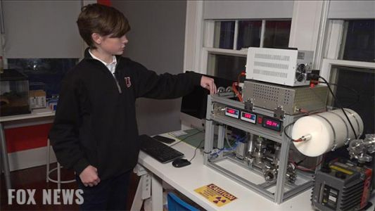 Teenager builds nuclear reactor in his parents' spare bedroom
