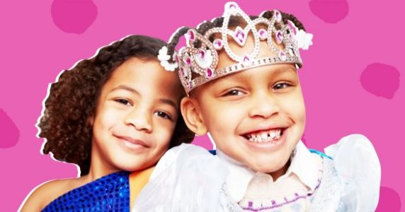 My Kids' Princesses And Superheroes Are Black - And It's About Time