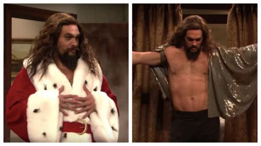 Jason Momoa As A Christmas Stripper Is The Only Present You Need