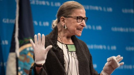 RBG Is Back, Bitches!
