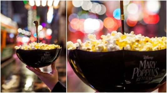 These 'Mary Poppins' Movie Popcorn Bowls Are Practically Perfect In Every Way