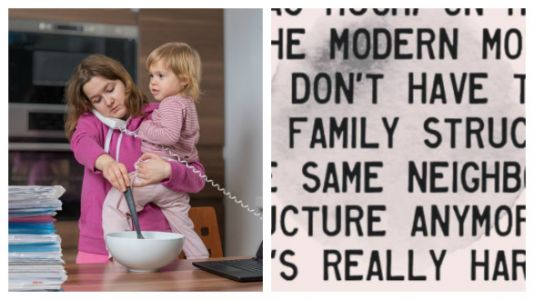 This Is Why Modern Motherhood Is So Different Than Before