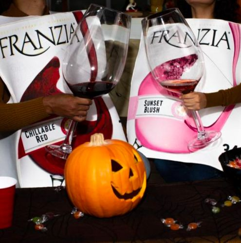 You Can - And Should - Be A Giant Box Of Franzia For Halloween