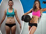 How a former bartender transformed her figure from sluggish to shredded in just eight weeks